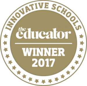 Innovative Schools The Educator Winner 2017 logo image
