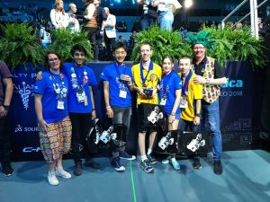 GLC & SPLC Win at the International Robotics Competition!